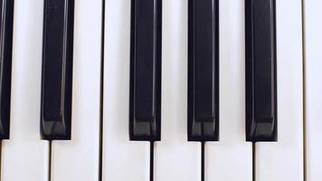 foto de rastreamento de teclas de piano