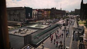 High View Near Main Square And Museum Of Templo Mayor