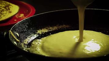 Time Lapse Cooking A Pancake