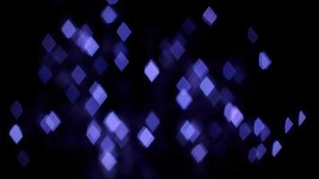 luces de bokeh de diamante púrpura 1867