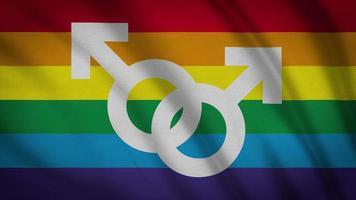 bandeira gay lgbt video