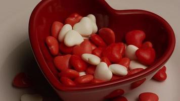 Imágenes de archivo giratorias tomadas de dulces del día de San Valentín - Valentines 020