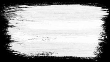 Dibujo de marco de trazo de pincel de pintura realista 4k video