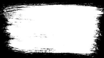 desenho de quadro de pincelada de pintura
