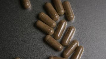 Imágenes de archivo giratorias tomadas de vitaminas y píldoras - vitaminas 0019