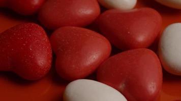 Imágenes de archivo giratorias tomadas de decoraciones y dulces de San Valentín - San Valentín 0058