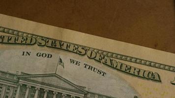 dose rotativa de dinheiro americano (moeda) - dinheiro 504