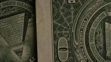 Disparo giratorio de dinero americano (moneda) - dinero 479