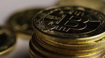 colpo rotante di bitcoin (criptovaluta digitale) - bitcoin 0449