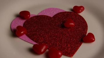 Imágenes de archivo giratorias tomadas de decoraciones y dulces de San Valentín - San Valentín 0111