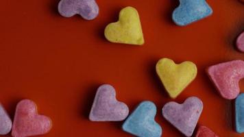 Imágenes de archivo giratorias tomadas de decoraciones y dulces de San Valentín - San Valentín 0089