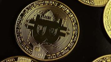 tiro giratório de bitcoins (criptomoeda digital) - bitcoin 0089