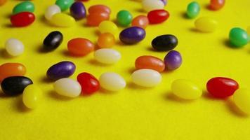 Foto giratoria de coloridos caramelos de Pascua - Pascua 084