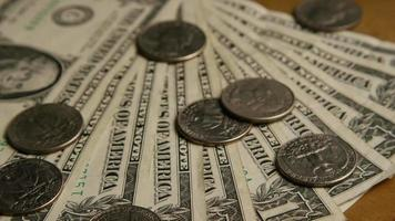 foto rotativa de dinheiro americano (moeda) - dinheiro 552