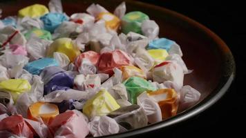 colpo rotante di taffies di acqua salata - candy taffy 020