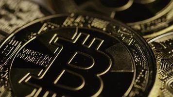 colpo rotante di bitcoin (criptovaluta digitale) - bitcoin 0399