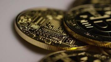 colpo rotante di bitcoin (criptovaluta digitale) - bitcoin 0419