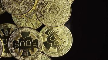 tiro giratório de bitcoins (criptomoeda digital) - bitcoin 0575