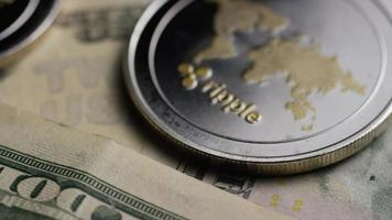 Tir rotatif de bitcoins (crypto-monnaie numérique) - ondulation bitcoin 0277