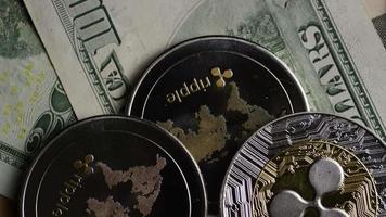 Tir rotatif de bitcoins (crypto-monnaie numérique) - ondulation bitcoin 0298 video