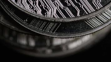 Tir tournant de bitcoins (crypto-monnaie numérique) - ondulation bitcoin 0202 video