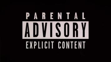aviso de fundo de conteúdo adulto video