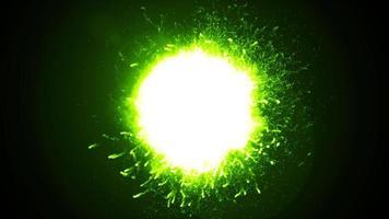 ciclo di esplosione del fuoco di potenza ad onde d'urto