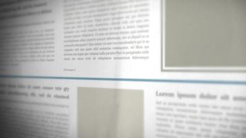 rolando fundo de jornal em 3D