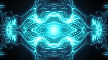fractal abstrato caleidoscópio fx loop video