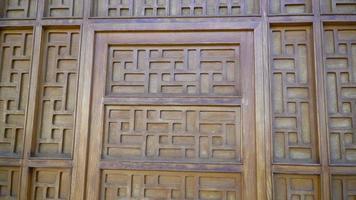 mouvement de curseur de mur vintage en bois vidéo 4k