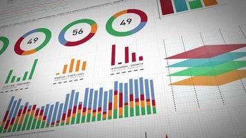 Business Statistics, Market Data And Infographics Layout Pack