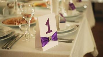 mesa de casamento elegante