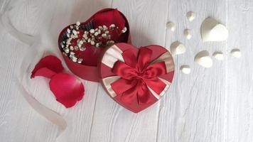 caja de regalo de corazón