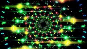 roterende gloeiende lichten
