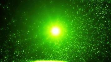 fond de particules de lumière abstraite ralenti