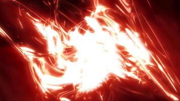 loop de fundo fluido de luz abstrata