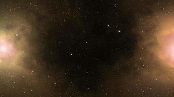 bucle de fondo de espacio profundo de ciencia ficción
