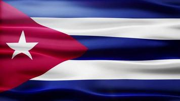 cuba flag loop