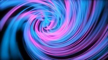 cordas espirais abstratas video