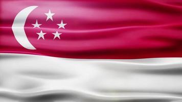 Singapore Flag Loop