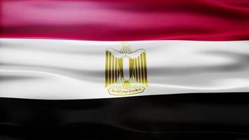 bucle de bandera de egipto