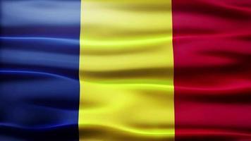 lazo de la bandera de rumania