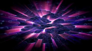 explosión de luz parpadeante abstracta video