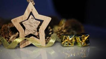 elegante decoración interior navideña
