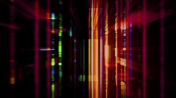 futuristische Technologie-Abstraktion mit Streaming-Lichteffekten video
