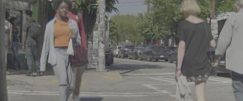 die Strasse überqueren video