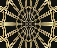 rotación de patrón de forma de estilo retro gatsby