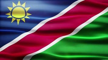 lazo de la bandera de namibia