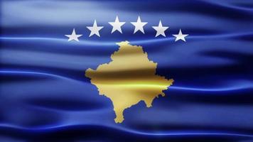 lazo de la bandera de kosovo