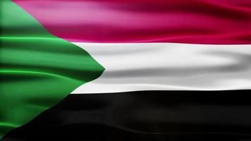 lazo de la bandera de Sudán